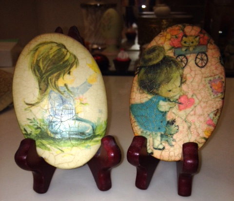 Decoupage cuties