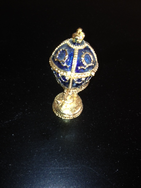 Tiny Replica of Faberge Egg