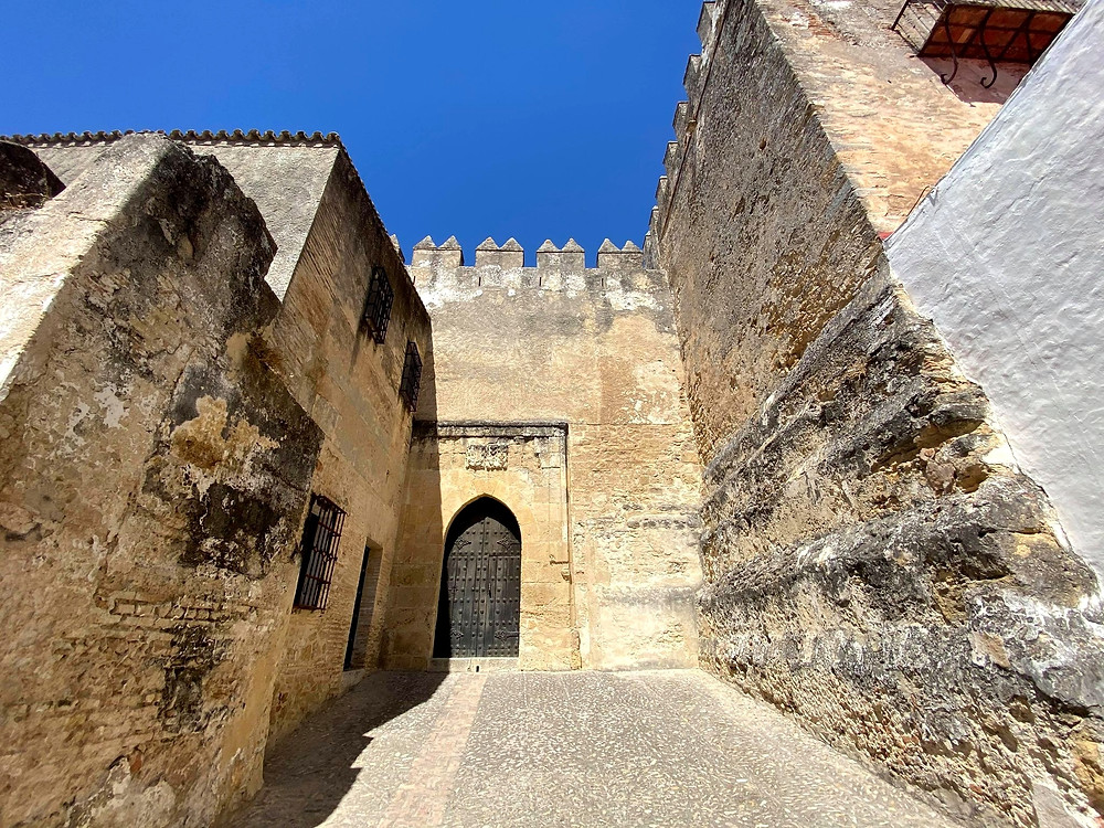 Entrance to Castillo Ducal in Arcos de la Frontera, Spain