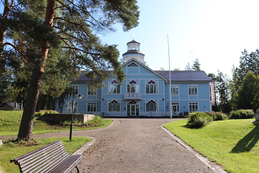 Exterior of Lotta Museum in Tuusula Finland