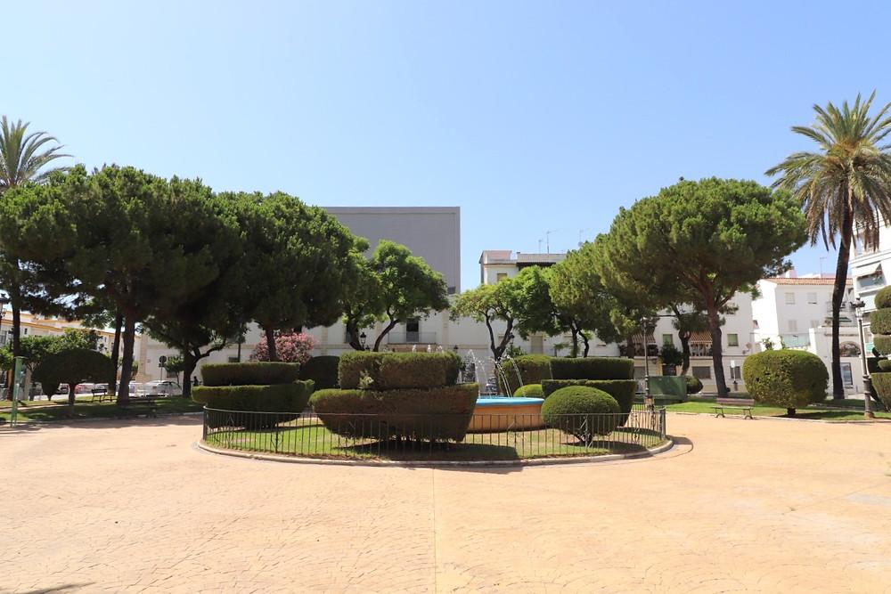 Plaza del Polvorista in El Puerto de Santa Maria, Cadiz, Spain