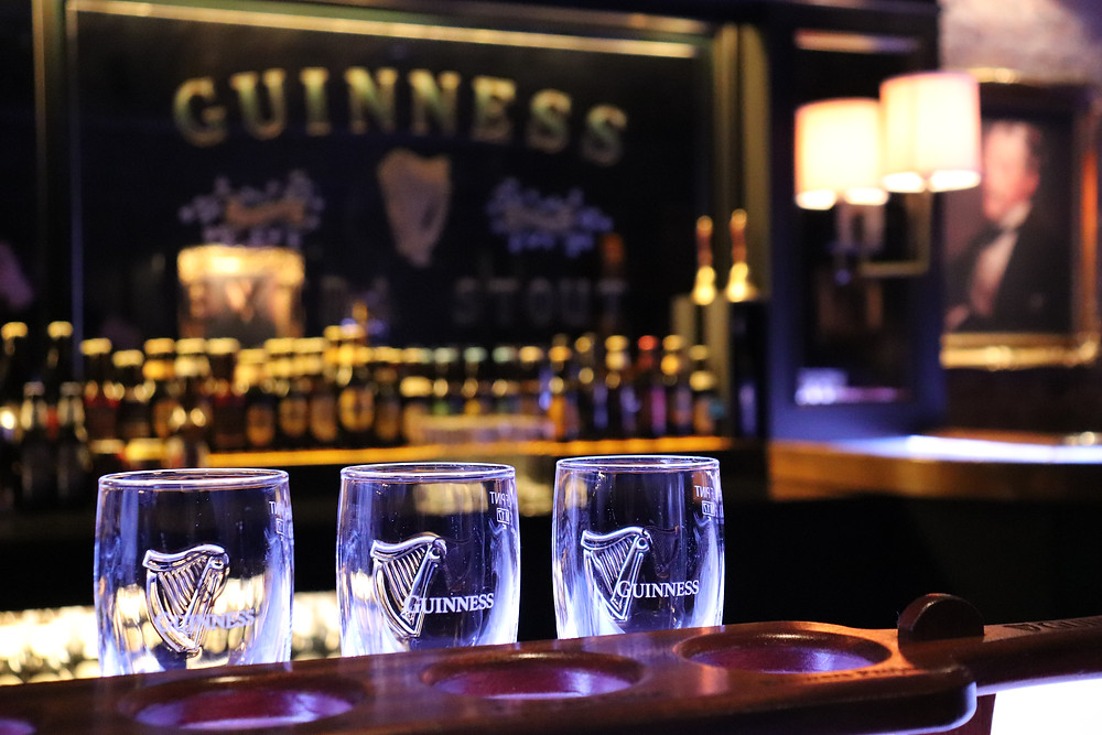Guinness Storehouse Connoisseur Experience inside the Guinness Factory in Dublin Ireland