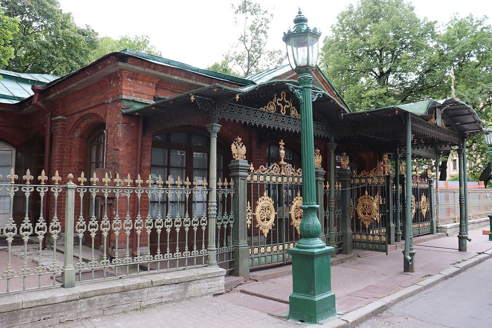 Cabin of Tsar Peter the Great st petersburg russia