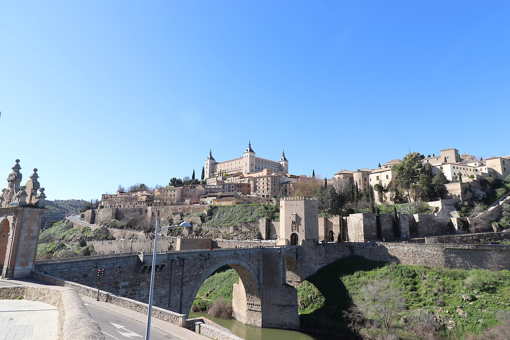 Puente de Alcántara & Toledo Castle