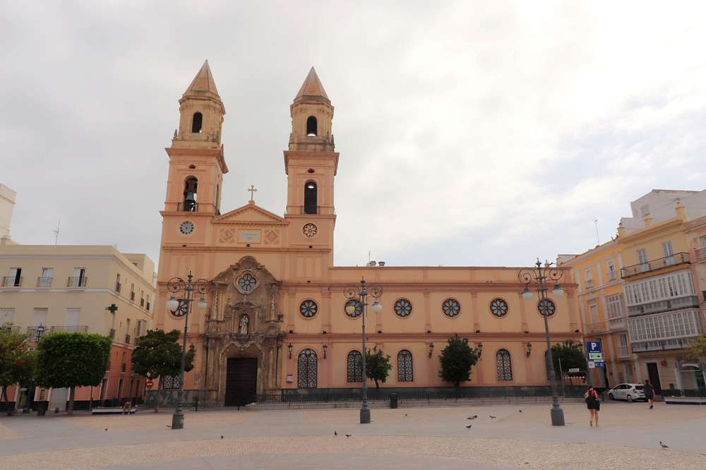Parroquia de San Antonio church in Cadiz, Spain