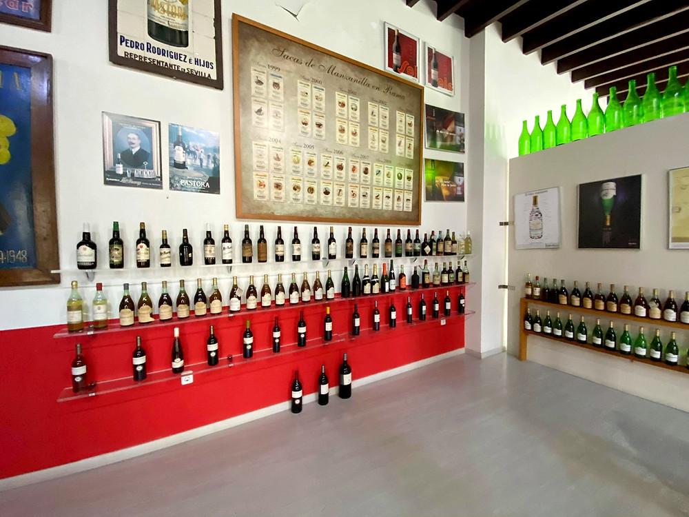 Museo de la Manzanilla inside Bodegas Barbadillo in Sanlucar de Barrameda, Cadiz