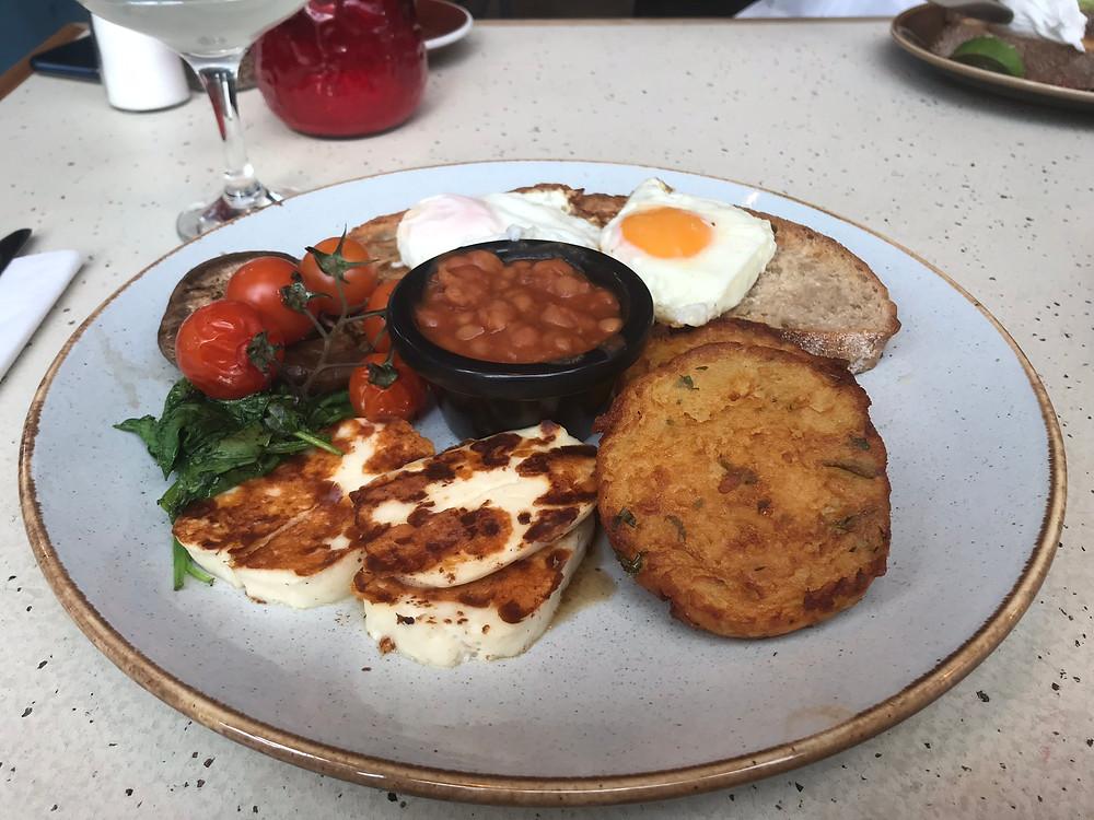 Vegetarian breakfast northern quarter Manchester UK