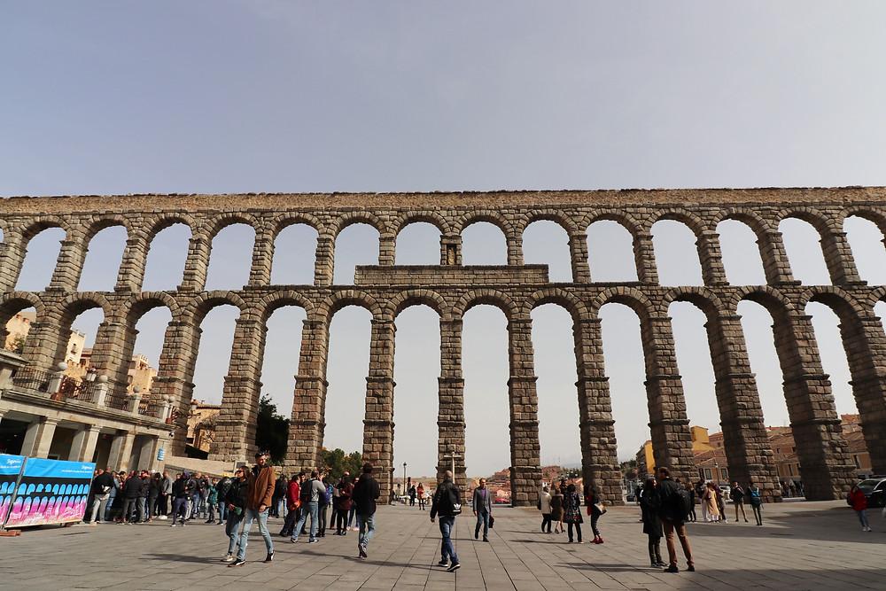 Plaza del Azoguejo & Aqueduct