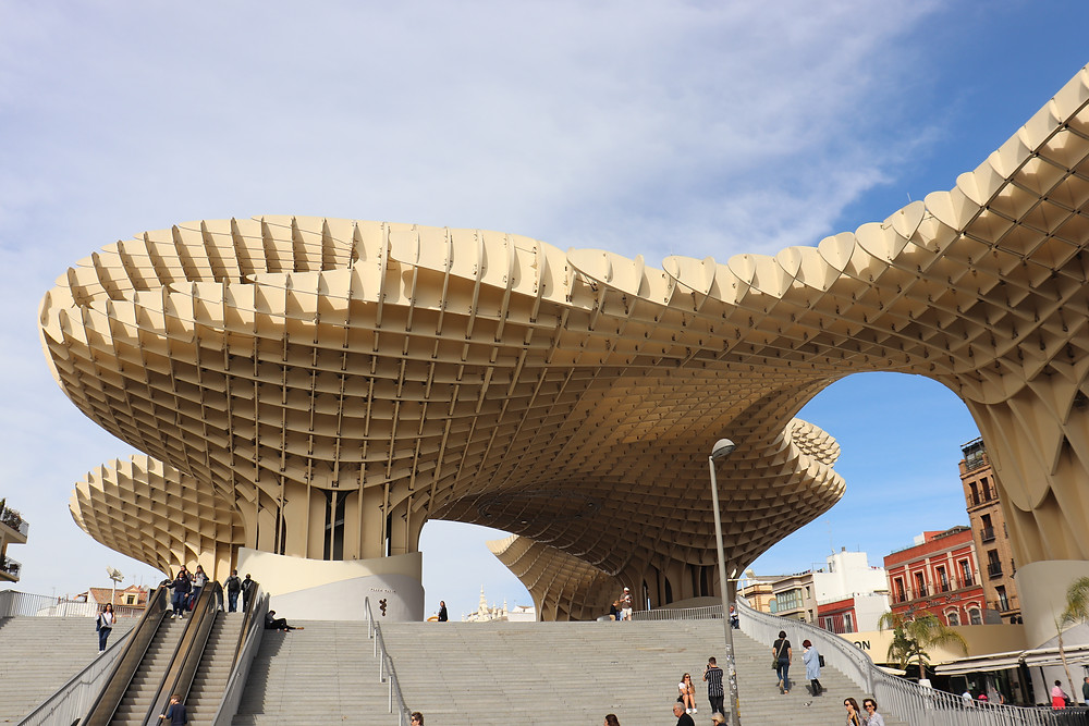 Metrosol Parasol unique structure in seville spain