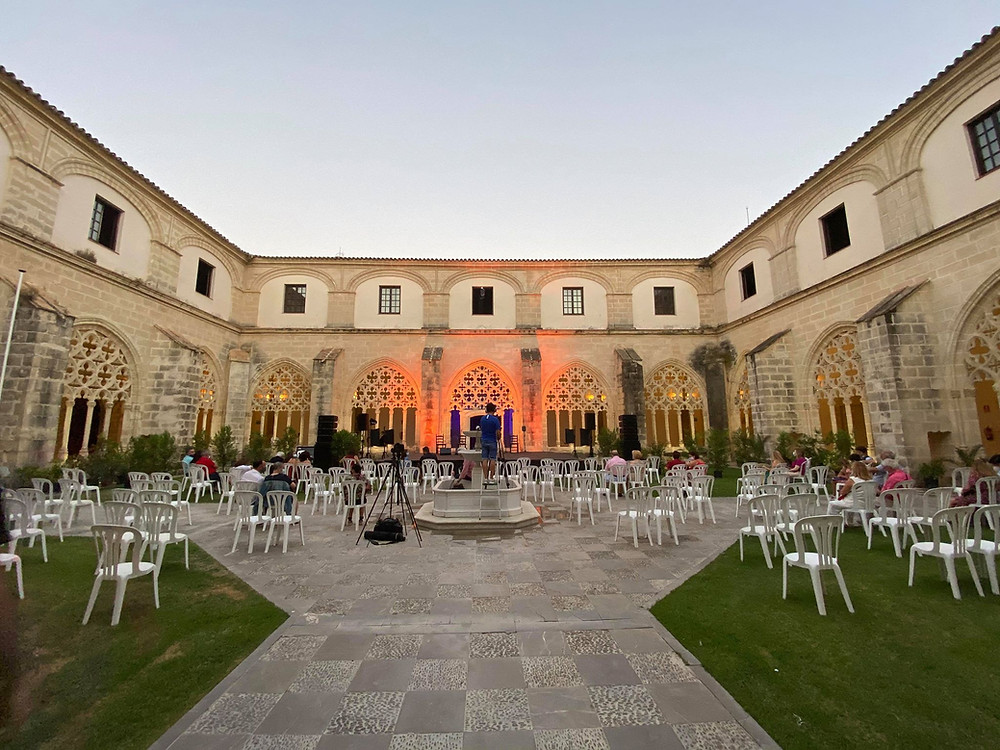 Claustros de Santo Domingo flamenco show in Jerez, Cadiz, Spain