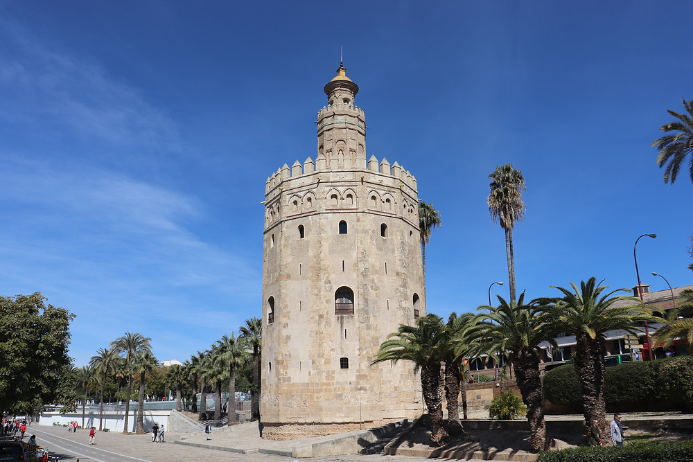 Torre del oro in seville spain