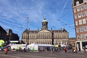 Dam Square & the Royal Palace Amsterdam Netherlands
