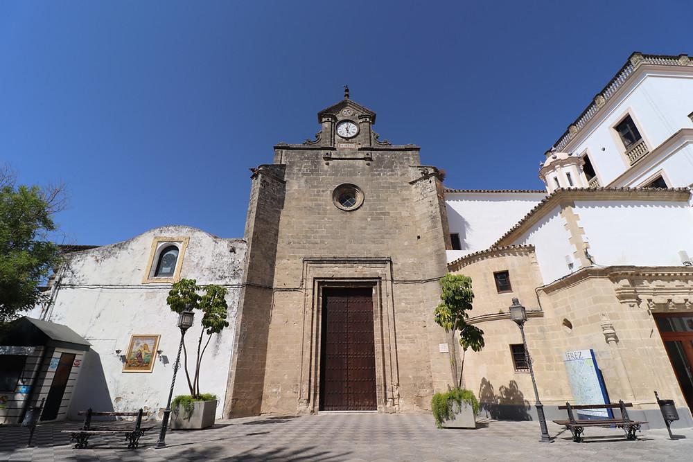 Convento de Santo Domingo exterior in Jerez, Cadiz, Spain