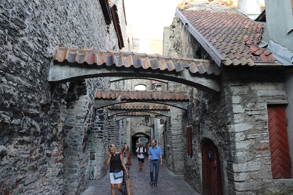 St Catherine's Passage medieval spot Tallinn Estonia