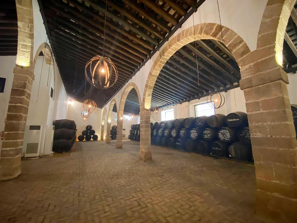 Bodegas Caballero warehouse inside Castillo de San Marcos, El Puerto de Santa Maria, Cadiz