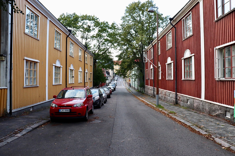 Puu-Kapyla (Wooden House Neighbourhood) Helsinki Finland