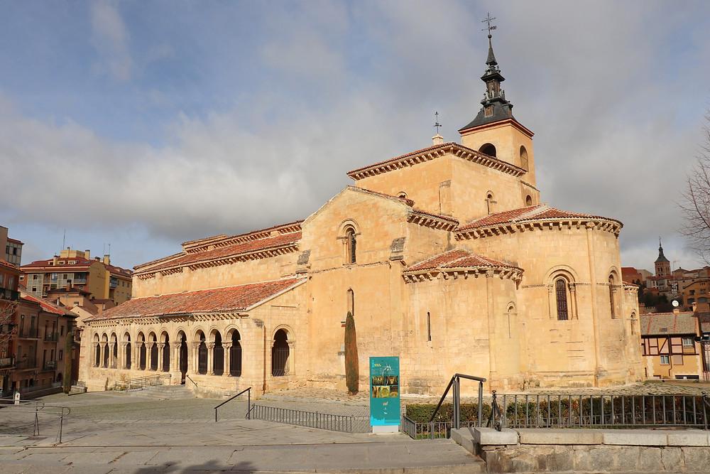 Outside of Iglesia de San Millán