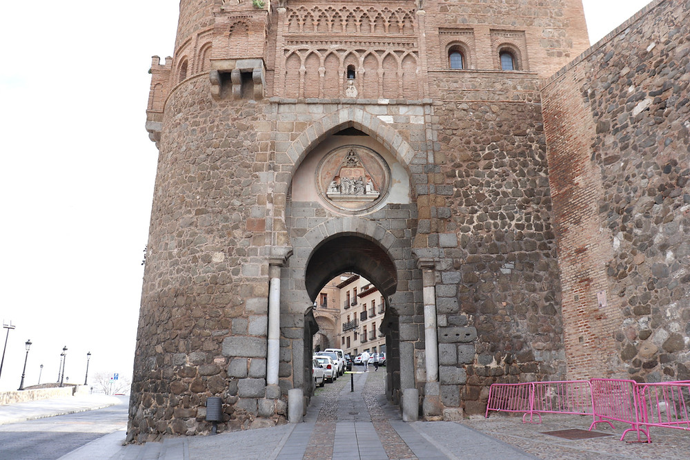Puerta del Sol, city gate in Toledo