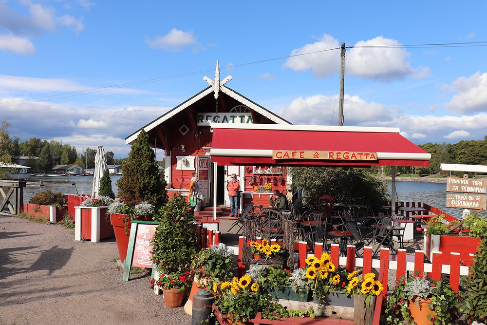 Cafe Regatta Helsinki Finland