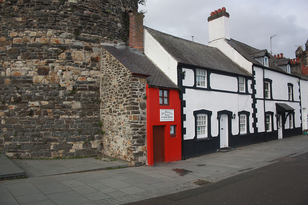 The Smallest House in Great Britain in Conwy Wales