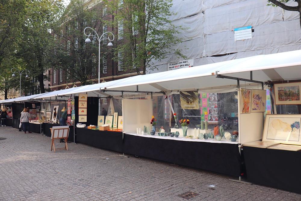 One of the many market stalls around Amsterdam Netherlands