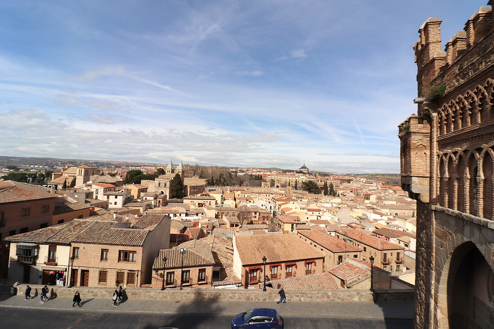 View of Toledo from Mezquita del Cristo de la Luz