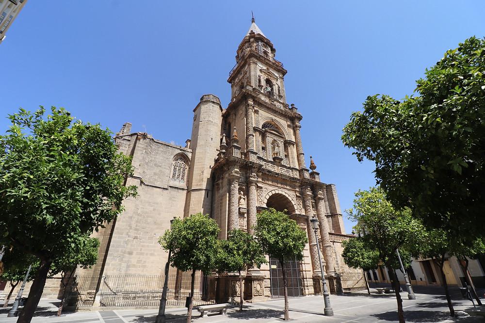 Iglesia de San Miguel exterior in Jerez, Cadiz, Spain
