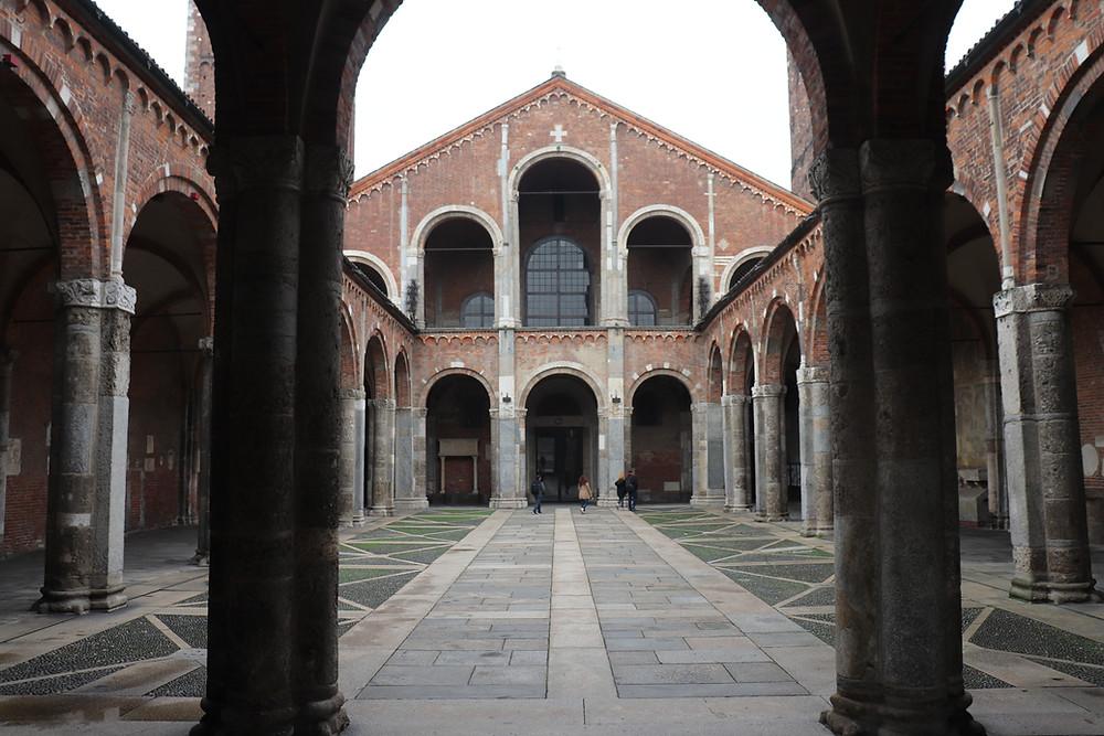 Basilica di Sant'Ambrogio Milan Italy