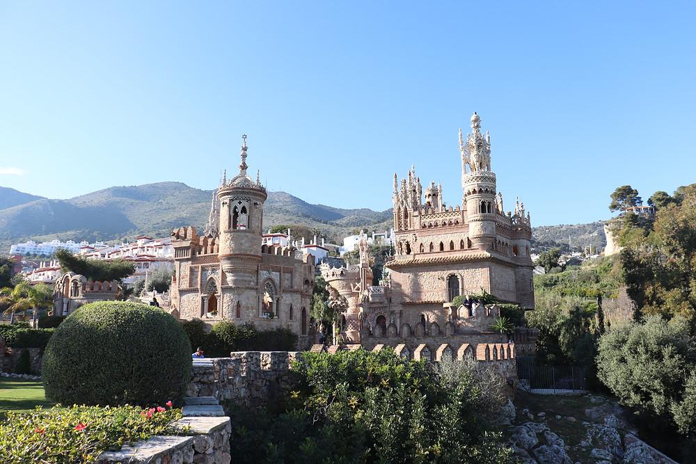 Castillo Monumento Colomares in benalmadena southern spain
