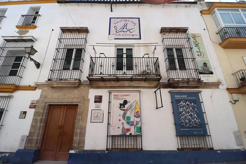 Museo Fundación Rafael Alberti in El Puerto de Santa Maria, Cadiz, Spain