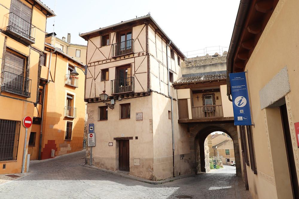 Entrance to the Jewish quarter in Segovia
