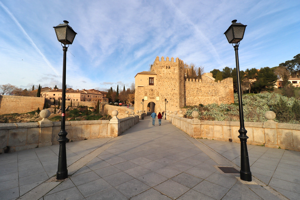 Puente de San Martin, medieval bridge in Toledo