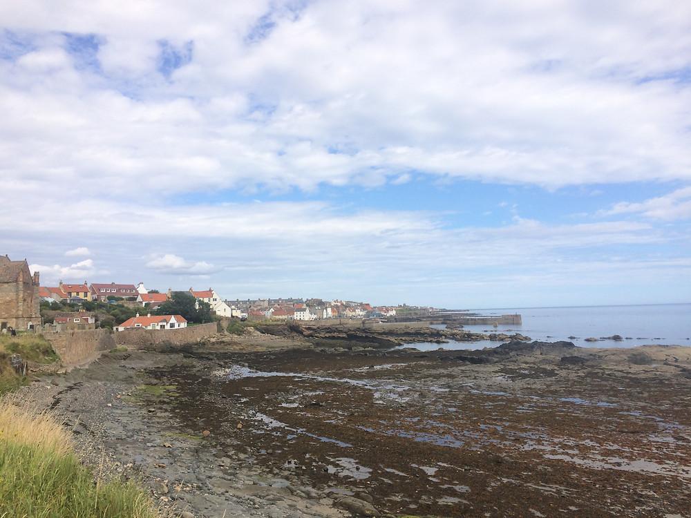 Pittenweem small coastal village along Fife Coastal Path, Scotland