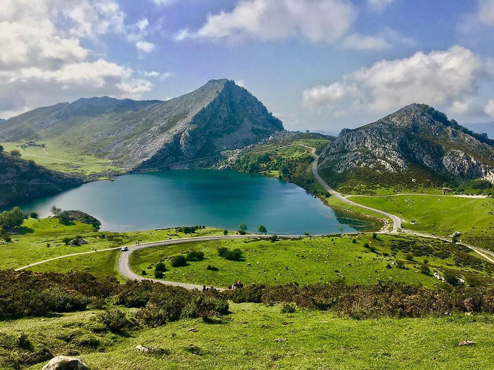 Lakes of Covadonga in Northern Spain