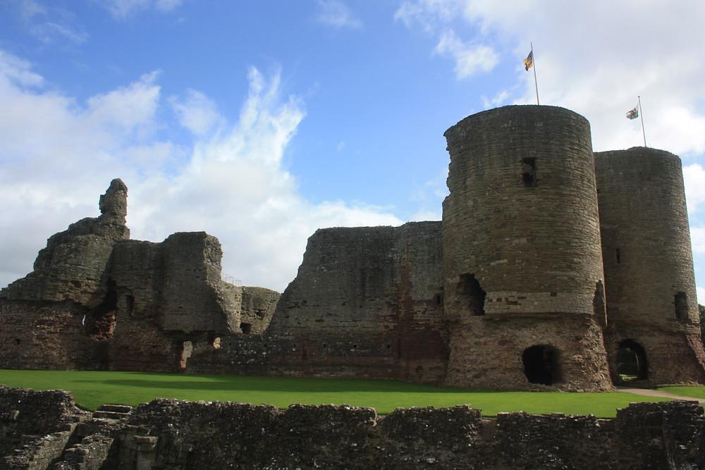 Rhuddlan Castle ruins in Wales