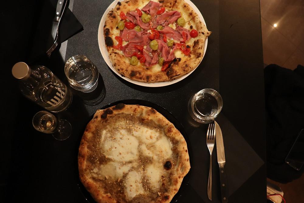 Truffle pizza Milan Italy