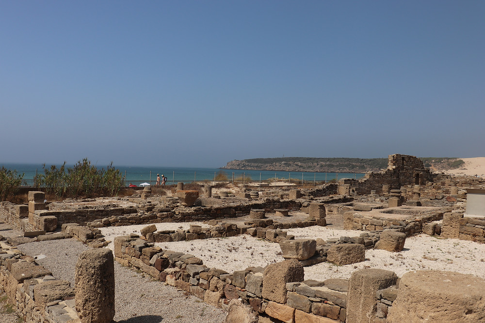 Baelo Claudia roman ruins along the beach in southern spain