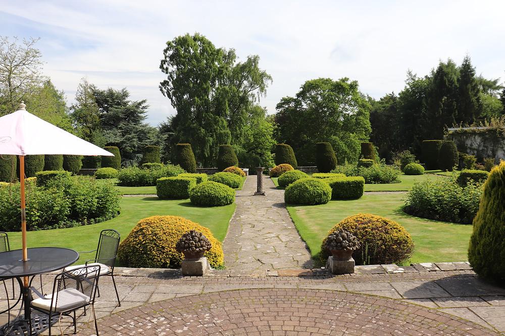 Rufflets hotel garden in st andrews scotland