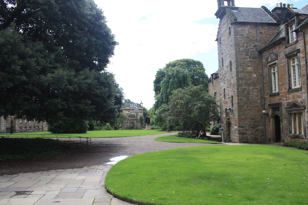 St Mary's Quad at the University of St Andrews, Scotland