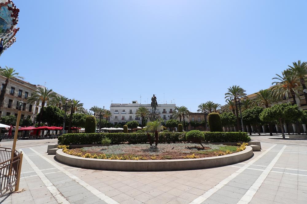 Plaza del Arenal in Jerez, Cadiz, Spain