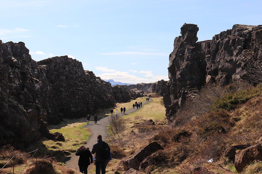 Thingvellir National Park tectonic plates iceland
