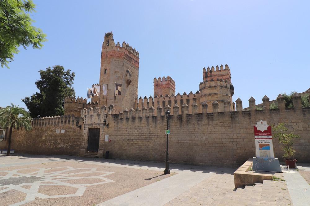 Castillo de San Marcos exterior in El Puerto de Santa Maria, Cadiz, Spain