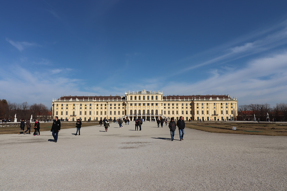 Schonbrunn Palace summer residence of the Habsburgs