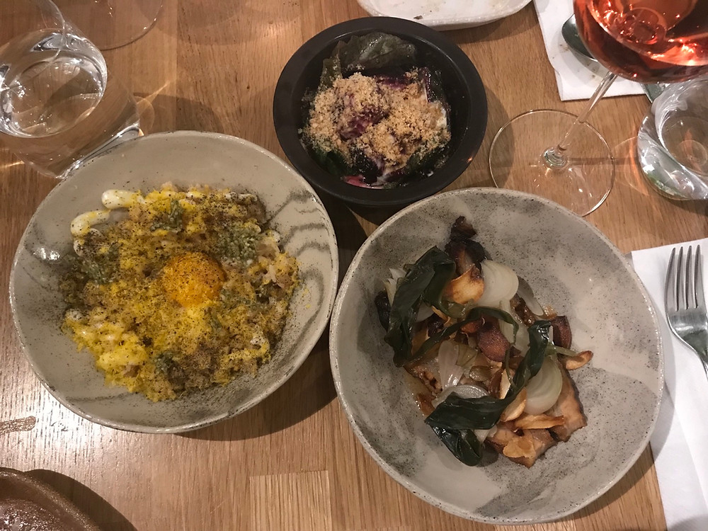 Selection of dishes fro Gohan Wine Bar Helsinki Finland