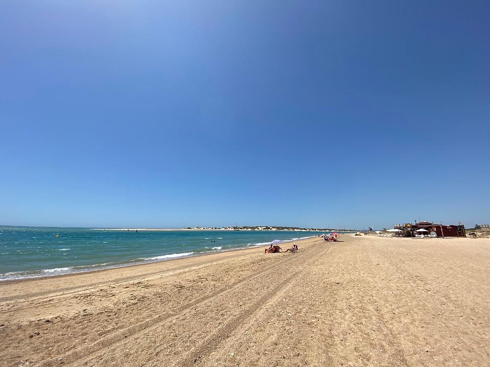 Playa de Sancti Petri in Cadiz, Spain