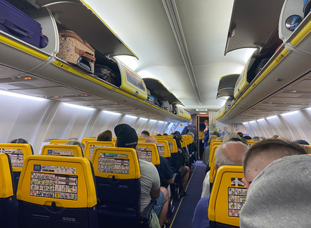 Flying With Ryanair From Manchester to Malaga in the Midst of Coronavirus