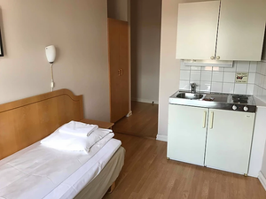 Single bedded room in Cochs Pensjonat Oslo, Norway