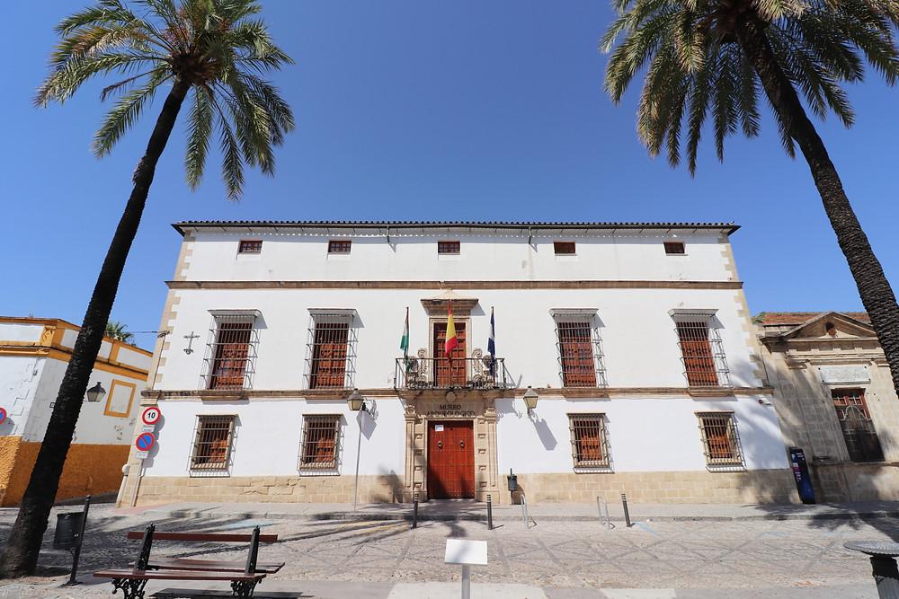 Museo Arqueológico Municipal building in Jerez, Cadiz, Spain