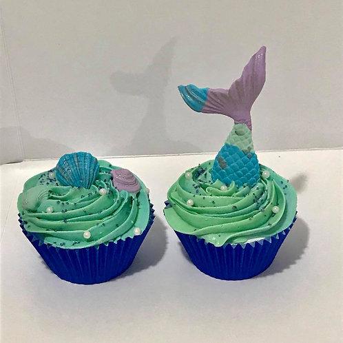 Mermaid Cupcakes (one dozen)
