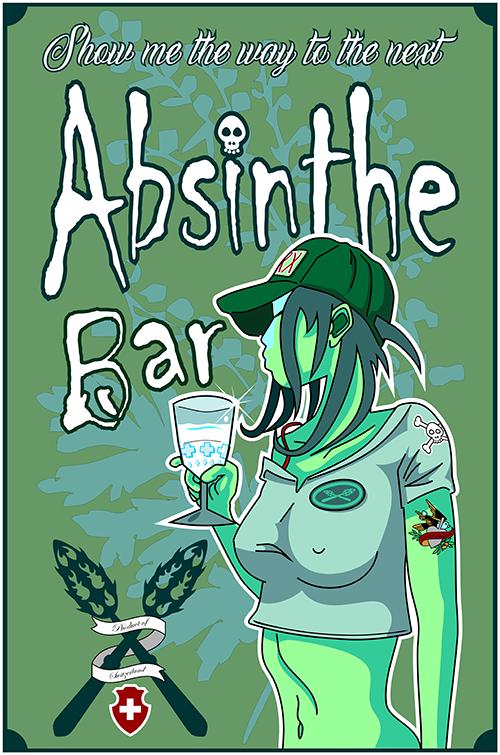 Absinthe Girl 3